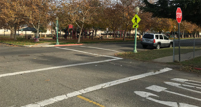 Crosswalks City Of Turlock Streets Traffictraffic